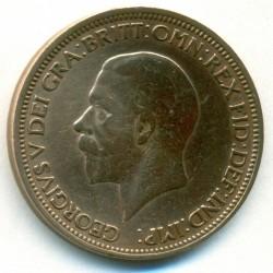 Moeda > ½pence, 1936 - Reino Unido  - obverse