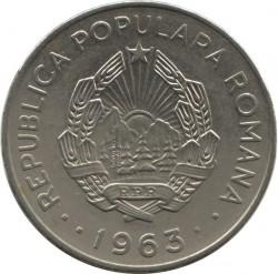 Moneta > 1leu, 1963 - Romania  - obverse