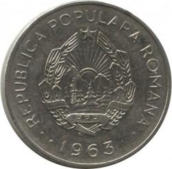 Moneta > 3lei, 1963 - Romania  - obverse