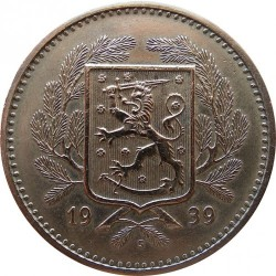 Moneta > 20markių, 1931-1939 - Suomija  - obverse