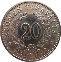 Moneta > 20markių, 1931-1939 - Suomija  - reverse