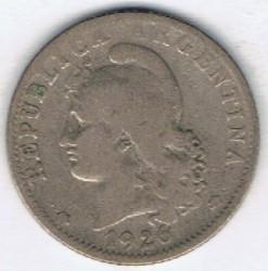 Moneda > 20centavos, 1926 - Argentina  - obverse