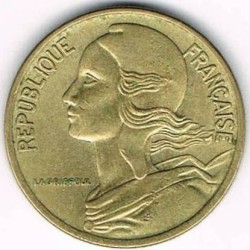 Coin > 5 centimes, 1966-2001 - France  - obverse