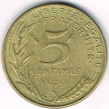 5 Centimes 1966 2001 Frankreich Münzen Wert Ucoinnet