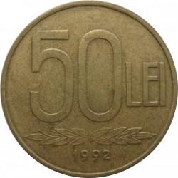Munt > 50lei, 1991-2003 - Roemenië  - reverse