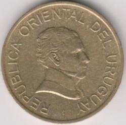 Monedă > 1peso, 1998-2007 - Uruguay  - obverse