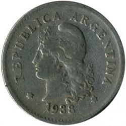 Moneta > 10centavos, 1896-1942 - Argentyna  - obverse