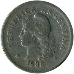 Moneta > 10centavos, 1896-1942 - Argentyna  - reverse