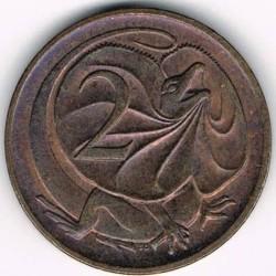 سکه > 2سنت, 1985-1991 - استرالیا  - reverse