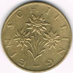 Монета > 1шиллинг, 1959-2001 - Австрия  - reverse