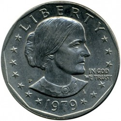 Coin > 1 dollar, 1979 - USA  - obverse