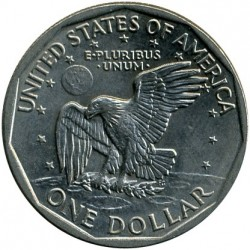 Coin > 1 dollar, 1979 - USA  - reverse