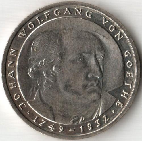 5 Mark 1982 Johann Wolfgang Von Goethe Deutschland Münzen Wert