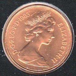 Монета > 2пенса, 1982-1984 - Великобритания  - obverse