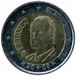 Münze > 2Euro, 2007-2009 - Spanien  - obverse