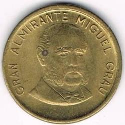 Монета > 10сентимос, 1985-1987 - Перу  - obverse