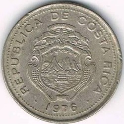 Монета > 10сентимос, 1969-1976 - Коста Рика  - obverse