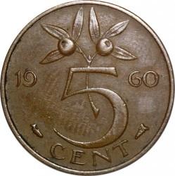 5 Cent 1960 Niederlande Münzen Wert Ucoinnet