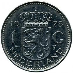 Munt > 1gulden, 1967-1980 - Nederland  - reverse