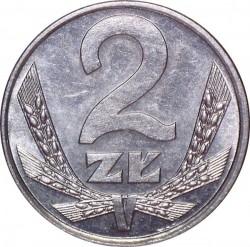 Кованица > 2злота, 1989-1990 - Пољска  - reverse
