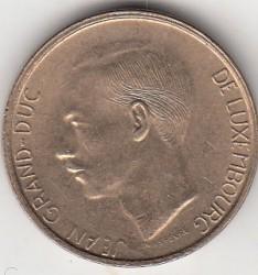 錢幣 > 20法郎, 1990-1995 - 盧森堡  - obverse