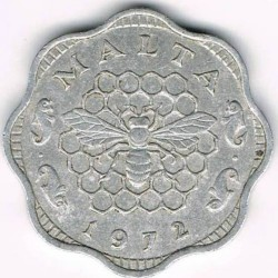 Monedă > 3mili, 1972-2006 - Malta  - obverse