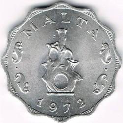 Pièce > 5mils, 1972-2007 - Malte  - obverse