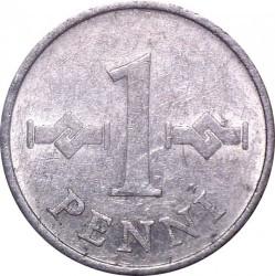 Coin > 1penni, 1969-1979 - Finland  - reverse
