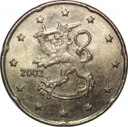 Moneta > 20centų, 1999-2006 - Suomija  - obverse