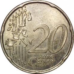 Moneda > 20céntimos, 1999-2006 - Finlandia  - reverse