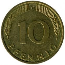 Münze > 10Pfennig, 1994 - Deutschland  - reverse