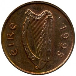 العملة > 2بنس, 1988-2000 - ايرلندا  - reverse
