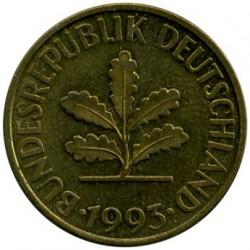 Münze > 10Pfennig, 1993 - Deutschland  - obverse