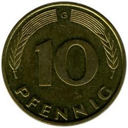 Münze > 10Pfennig, 1993 - Deutschland  - reverse