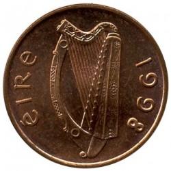 سکه > 1پنی, 1988-2000 - ایرلند  - obverse