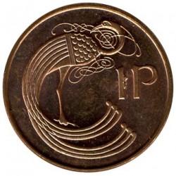 سکه > 1پنی, 1988-2000 - ایرلند  - reverse