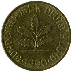Moneda > 10peniques, 1990 - Alemania  - obverse