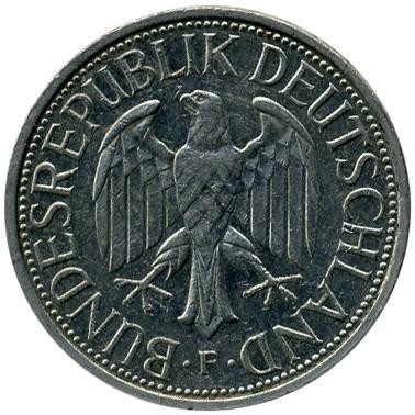 1 Mark 1990 Germany Coin Value
