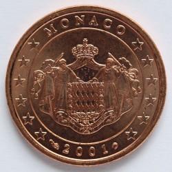 Monēta > 5centi, 2001-2005 - Monako  - obverse