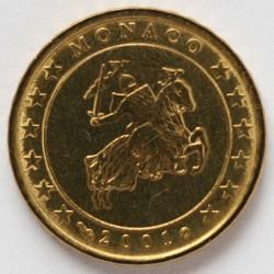 Monēta > 10centu, 2001-2004 - Monako  - obverse