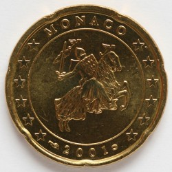 Monēta > 20eurocent, 2001-2004 - Monako  - obverse