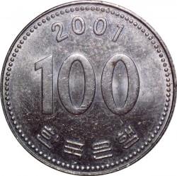 Moneta > 100vonų, 2001 - Pietų Korėja  - reverse
