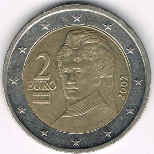 autriche 2 euros 2002 2006 km 3089 catalogue de pi ces. Black Bedroom Furniture Sets. Home Design Ideas
