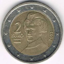 Münze > 2Euro, 2002-2006 - Österreich   - obverse