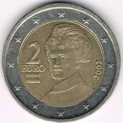 Münze > 2Euro, 2002-2006 - Österreich   - reverse