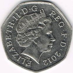 Moneta > 50pensų, 2008-2015 - Jungtinė Karalystė  - obverse