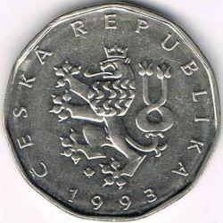 Moneta > 2corone, 1993-2019 - Repubblica Ceca  - obverse
