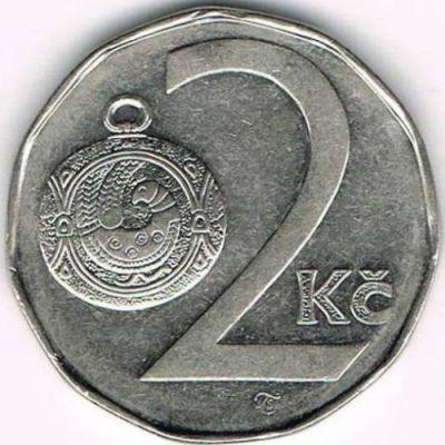 2 Kronen 1993 2018 Tschechische Republik Münzen Wert Ucoinnet
