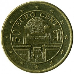 Coin > 50cents, 2008-2017 - Austria  - reverse