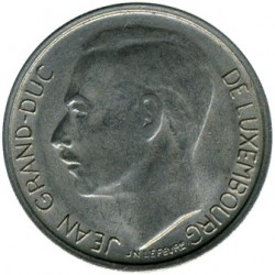 Монета > 1франк, 1965-1984 - Люксембург  - obverse